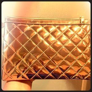Handbags - Rose gold clutch! Adorable! Fancy!